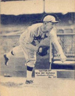 1934 Batter Up Wild Bill Hallahan #121 Baseball Card