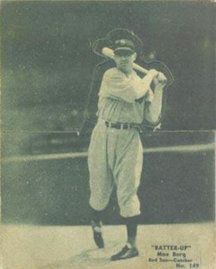 Moe Berg Baseball Cards