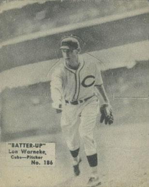 1955 Bowman #299 Lon Warneke Lonnie Baseball Card