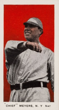 "1910 Anonymous ""Set of 30"" ""Chief"" Meyers, NY Nat #23 Baseball Card"