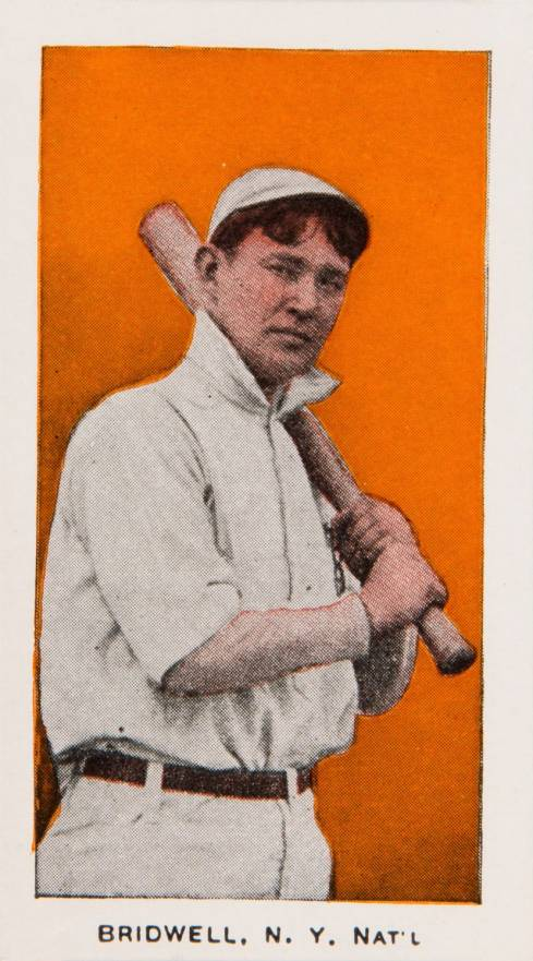 "1910 Anonymous ""Set of 30"" Bridwell, N.Y. Nat'L #3 Baseball Card"