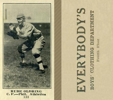 1916 Everybody Rube Oldring #133 Baseball Card