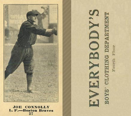 1916 Everybody Joe Connolly #37 Baseball Card