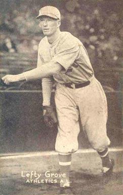 Lefty Grove Hall Of Fame Baseball Cards