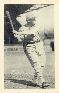 1922 Exhibits 1922 (Set 2) Ross Youngs #74 Baseball Card
