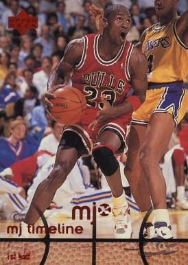 1998-99 Upper Deck mjx #26 Michael Jordan Chicago Bulls Basketball Card Basketbal