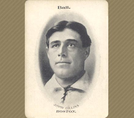 1906 Fan Craze (American) Jimmy Collins #8 Baseball Card