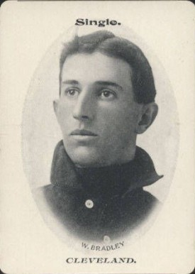 1906 Fan Craze (American) Bill Bradley #6 Baseball Card