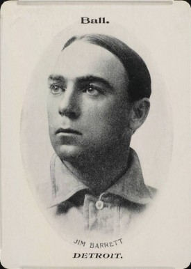 1906 Fan Craze (American) James Barrett #2 Baseball Card