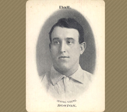 1906 Fan Craze (National) Irv Young #54 Baseball Card