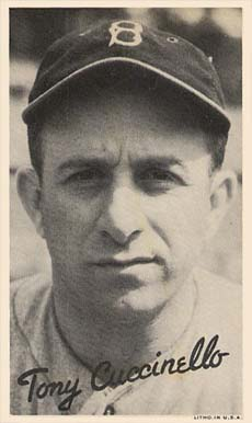 1936 Goudey Premium Wide Pens Tony Cuccinello #38 Baseball Card