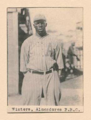 1923 Billiken Nip Winters #60 Baseball Card