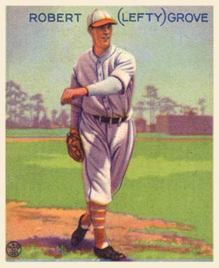 1933 Goudey Lefty Grove #220 Baseball Card