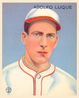 1933 Goudey Adolfo Luque #209 Baseball Card