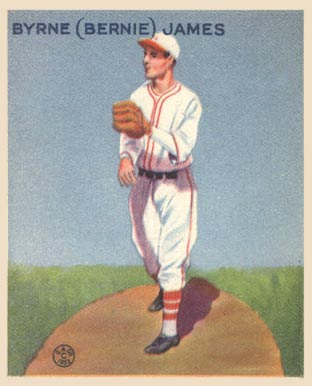1933 Goudey Bernie James #208 Baseball Card