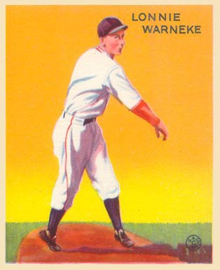 1933 Goudey Lon Warneke #203 Baseball Card