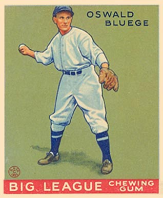 1933 Goudey Oswald Bluege #159 Baseball Card