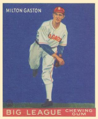 1933 Goudey Milton Gaston #65 Baseball Card