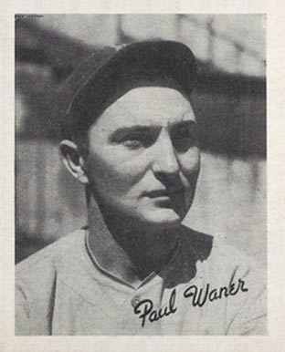 1936 Goudey Paul Waner #24 Baseball Card