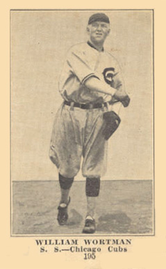 1917 Boston Store William Wortman #195 Baseball Card