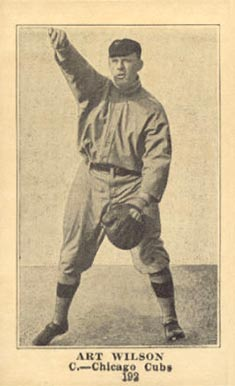 1917 Boston Store Art Wilson #192 Baseball Card