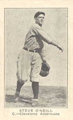 1921 Holsum Bread (1921) Steve O'Neill #25 Baseball Card