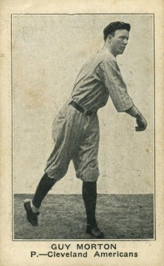 1921 Holsum Bread (1921) Guy Morton #22 Baseball Card