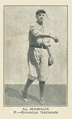 1921 Holsum Bread (1921) Al Mamaux #20 Baseball Card