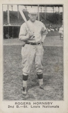 1921 Holsum Bread (1921) Rogers Hornsby #15 Baseball Card