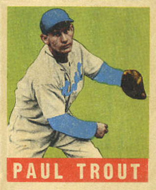 1948 Leaf Dizzy Trout #10 Baseball Card