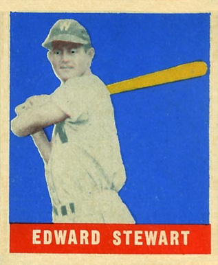 1948 Leaf Edward Stewart #104 Baseball Card
