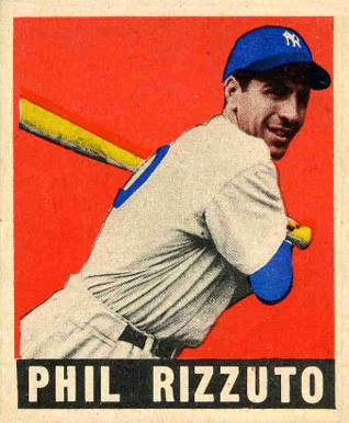 1948 Leaf Phil Rizzuto #11 Baseball Card