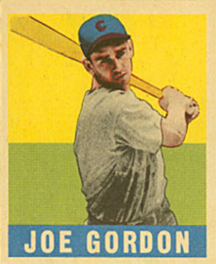 1948 Leaf Joe Gordon #117 Baseball Card