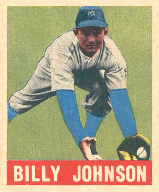 1948 Leaf Billy Johnson #14 Baseball Card