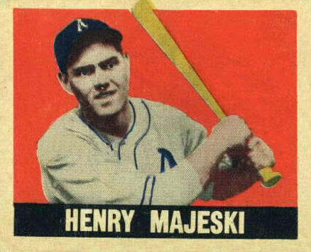 1948 Leaf Henry Majeski #149 Baseball Card