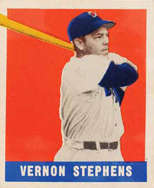 1948 Leaf Vernon Stephens #161 Baseball Card