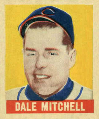 1948 Leaf Dale Mitchell #165 Baseball Card