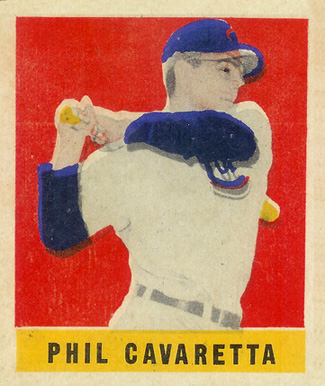1948 Leaf Phil Cavaretta #168 Baseball Card