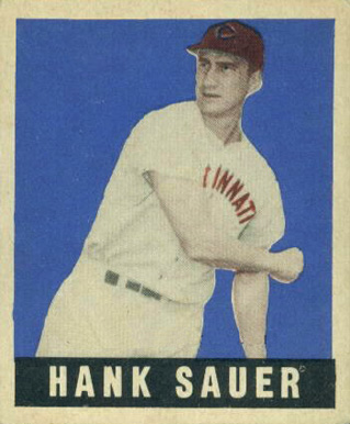 1948 Leaf Hank Sauer #20 Baseball Card