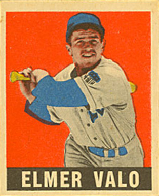 1948 Leaf Elmer Valo #29 Baseball Card