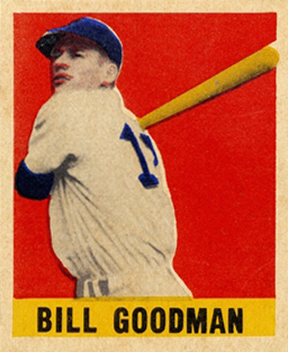 1948 Leaf Billy Goodman #30 Baseball Card