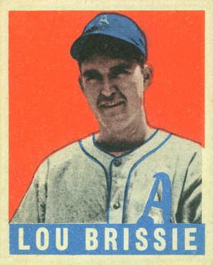 1948 Leaf Lou Brissie #31 Baseball Card