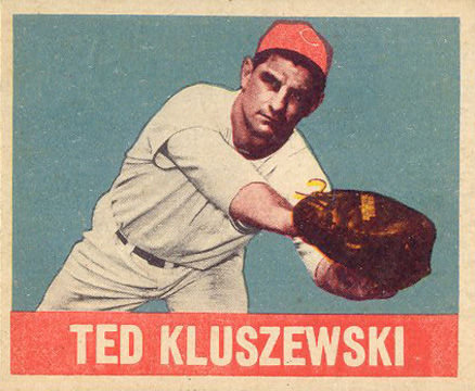1948 Leaf Ted Kluszewski #38 Baseball Card