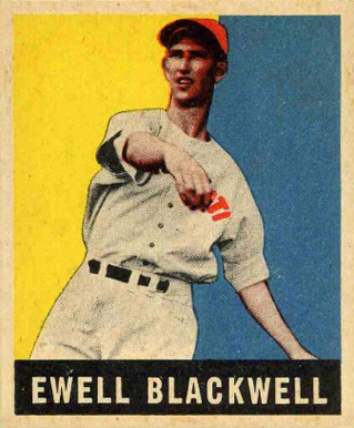 1948 Leaf Ewell Blackwell #39 Baseball Card