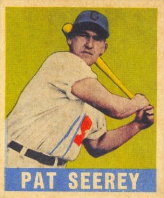 1948 Leaf Pat Seerey #73 Baseball Card