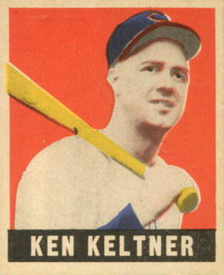 1948 Leaf Ken Kettner #45 Baseball Card