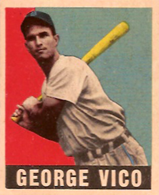 1948 Leaf George Vico #47 Baseball Card