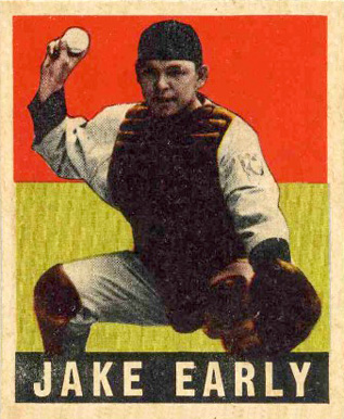 1948 Leaf Jake Early #61 Baseball Card
