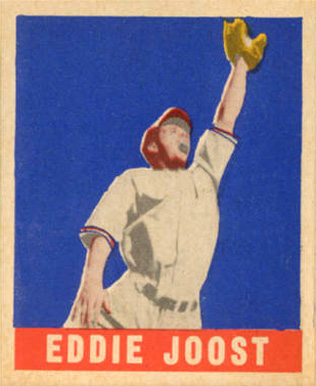 1948 Leaf Eddie Joost #62 Baseball Card