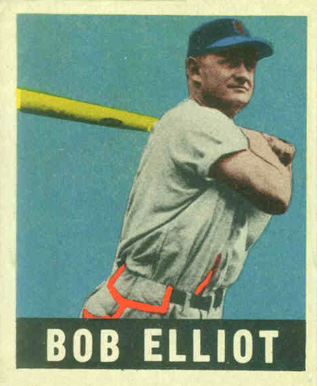 1948 Leaf Bob Elliott #65 Baseball Card